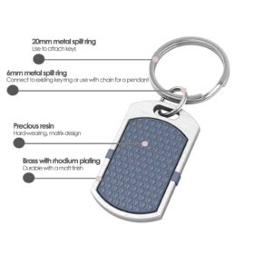 New York contactless payment wearable key fob pendant ocean blue product details specification