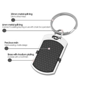 New York contactless payment wearable key fob pendant black product details specification