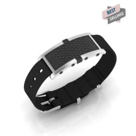 Oxford contactless payment wearable bracelet black and black nylon main view bestseller