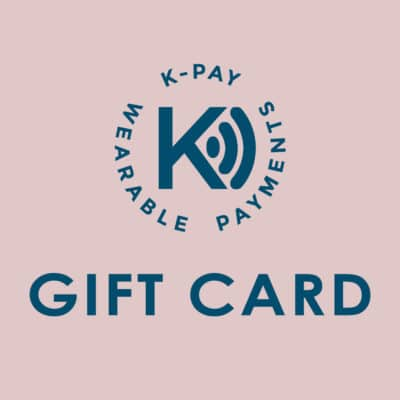 Gift card voucher for contactless payment wearables
